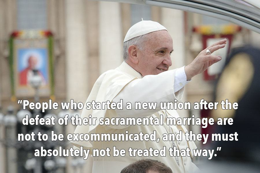 Pope Francis Quote On Divorce