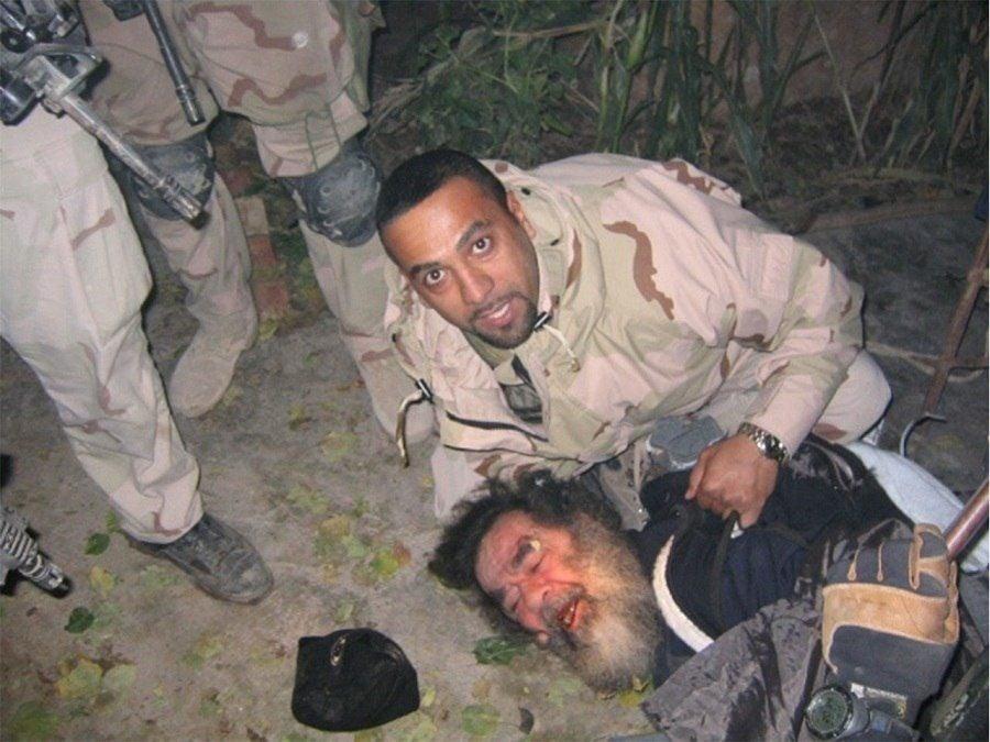 Saddam Hussein Captured
