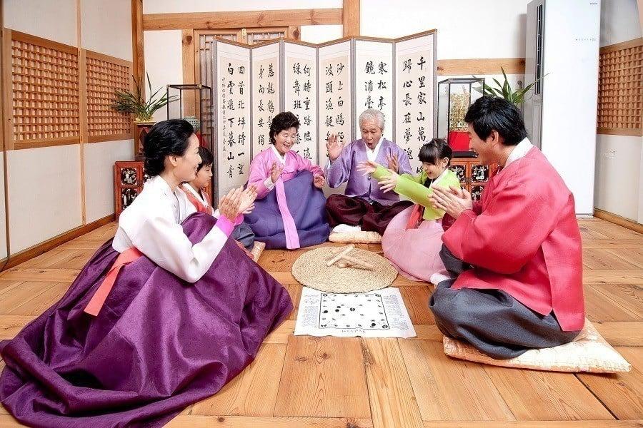 Seollal Korean New Year Family Reunion