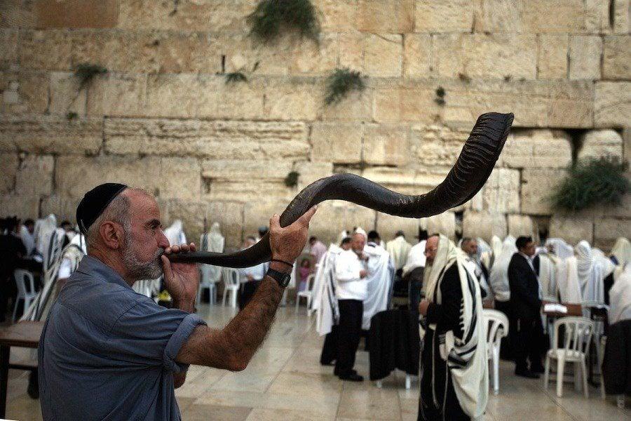 Shofar Rosh Hashanah Jewish New Year