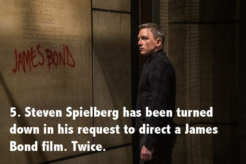 Steven Spielberg Facts Bond