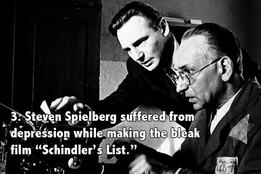 Steven Spielberg Facts Schindlers List
