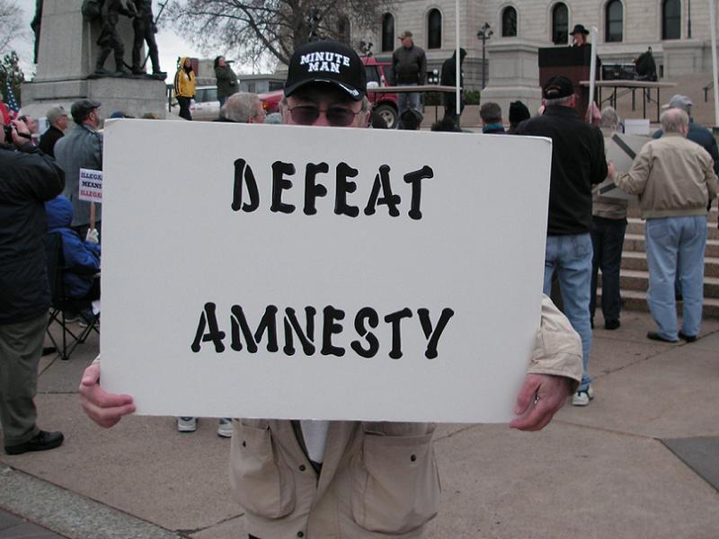 Tea Party Defeat Amnesty