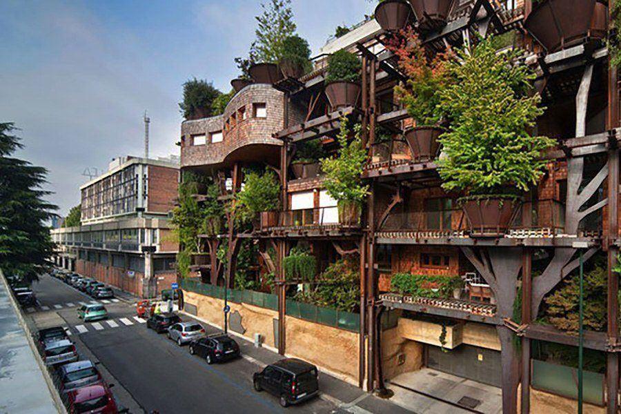 Urban Treehouse Turin Italy