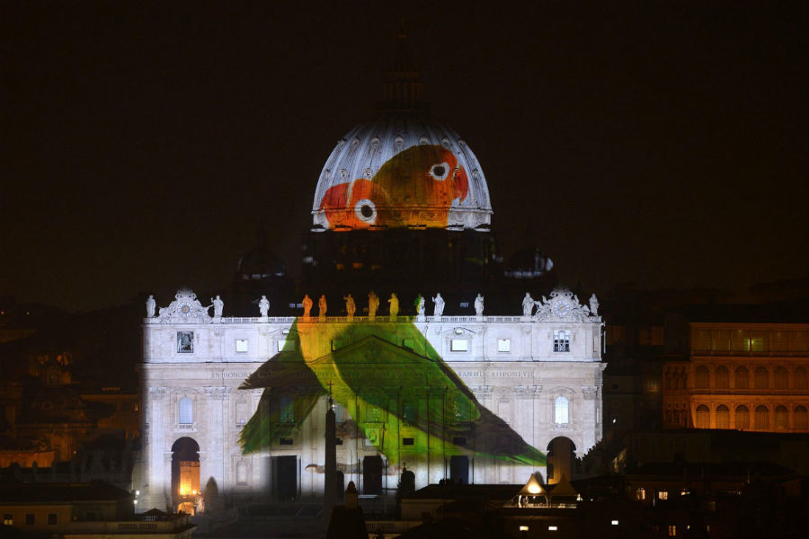 Vatican Art Projection 3