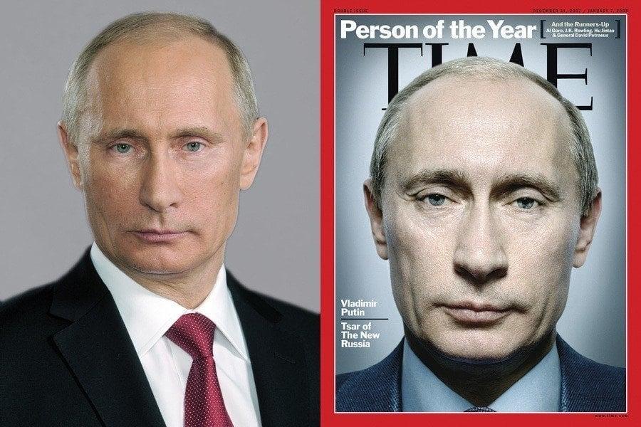 Vladimir Putin Time Magazine