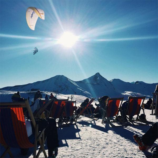 Winter Instagram Photos Alps Snowboarders