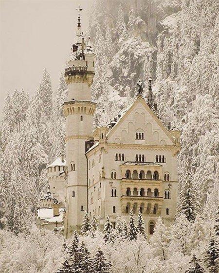 Winter Instagram Photos Castle