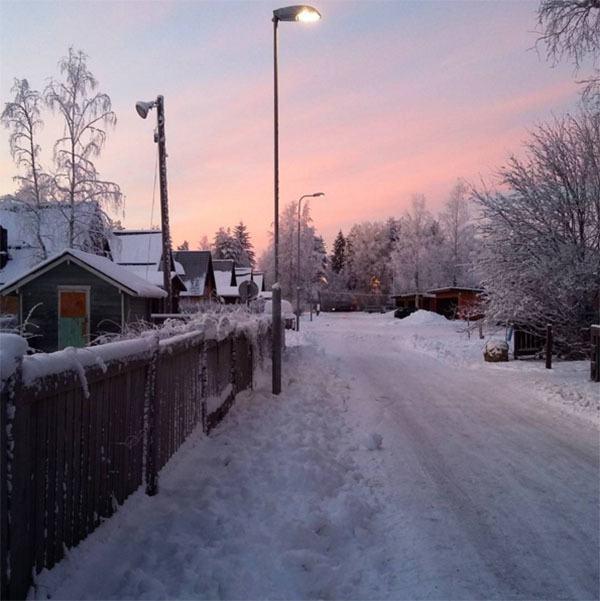 Winter Instagram Photos Finland Morning