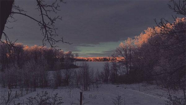 Winter Instagram Photos North Dakota Dawn