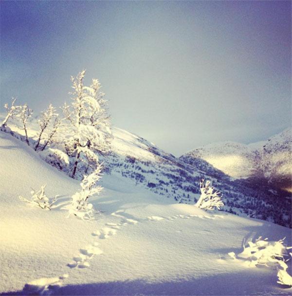 Winter Instagram Photos Norway Tracks