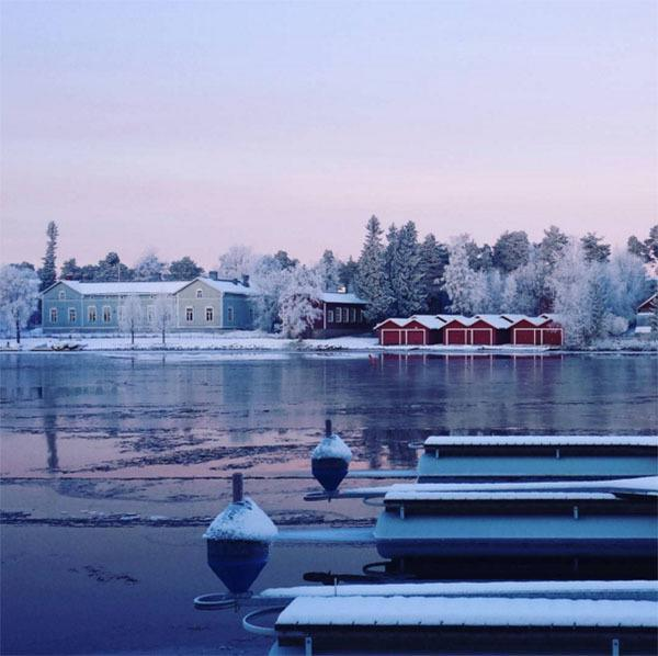 Winter Instagram Photos Oulu Finland