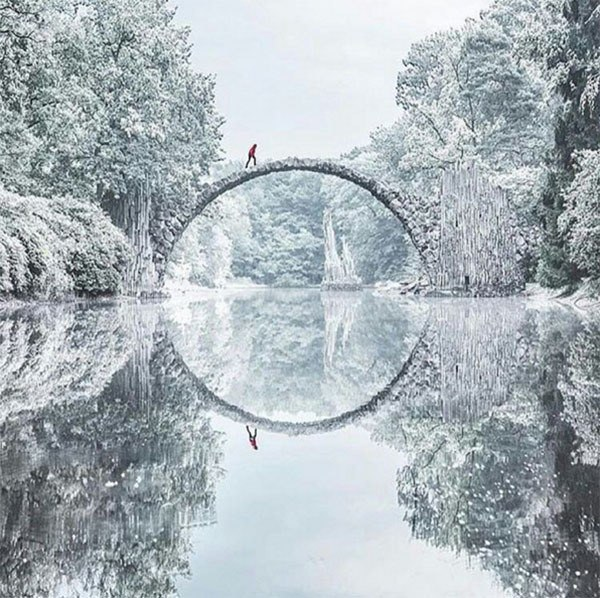 Winter Instagram Photos Rakotbrucke