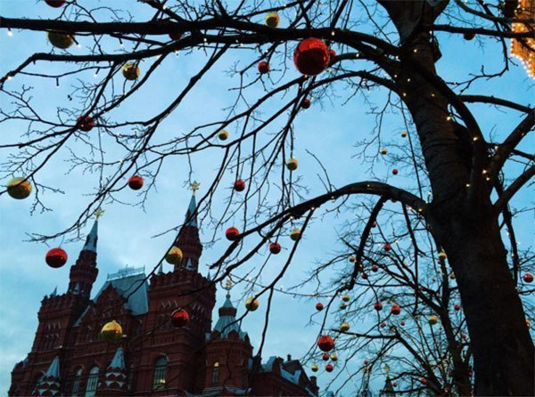 Winter Instagram Photos Red Square