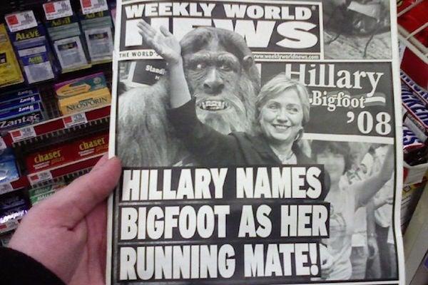 Bigfoot For President