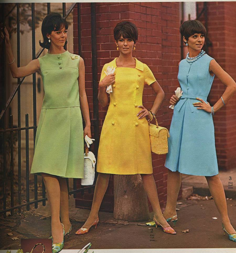 Mad Men Fashion Three Dresses