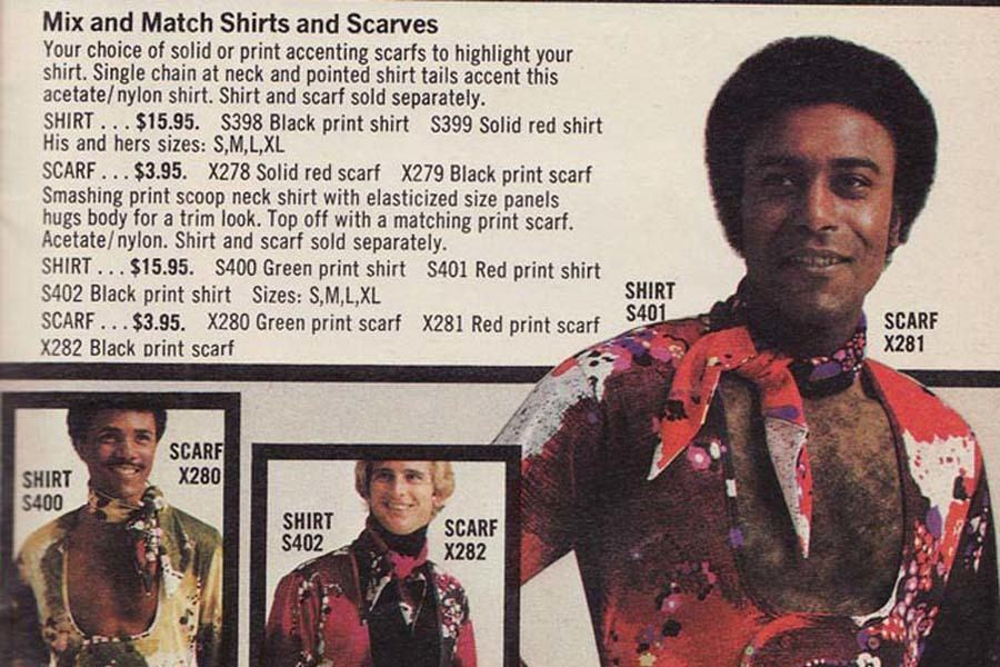 Weird 1970s Menswear Ads Neckerchief