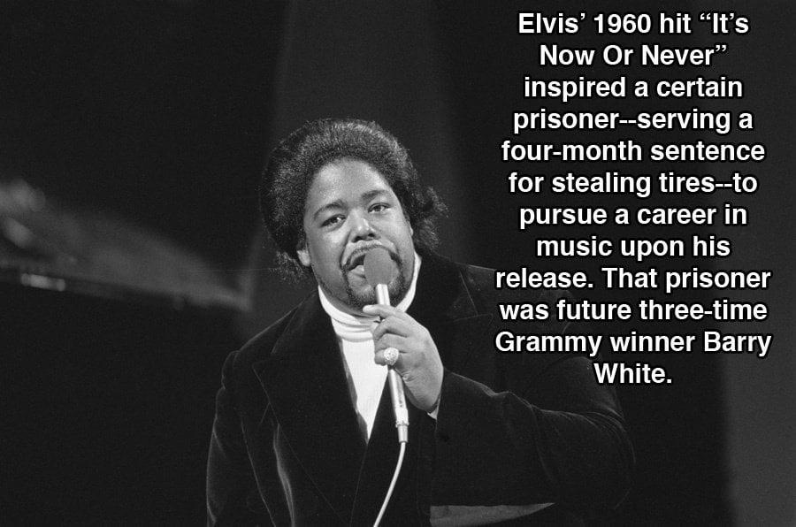 Barry White Elvis