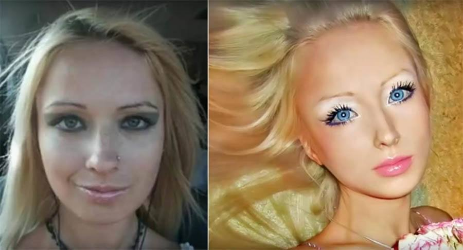 Human Barbies Before And After