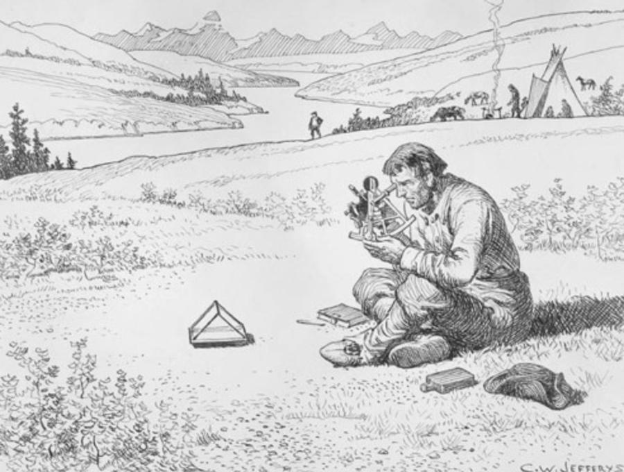 British Explorer David Thompson