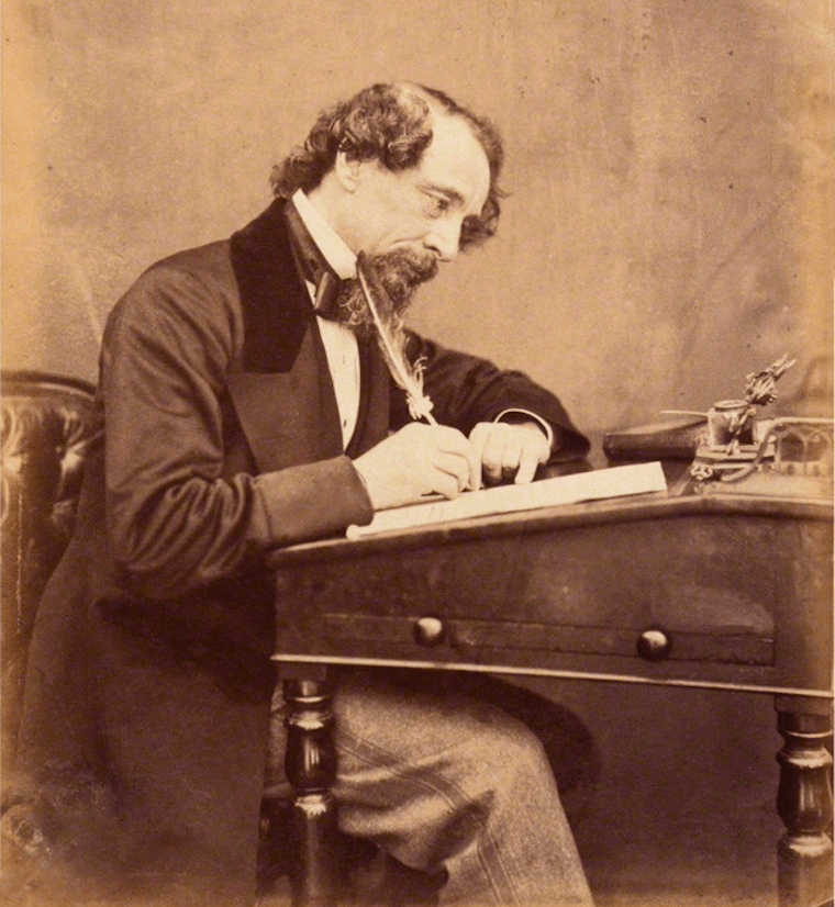 Charles Dickens Writing Desk