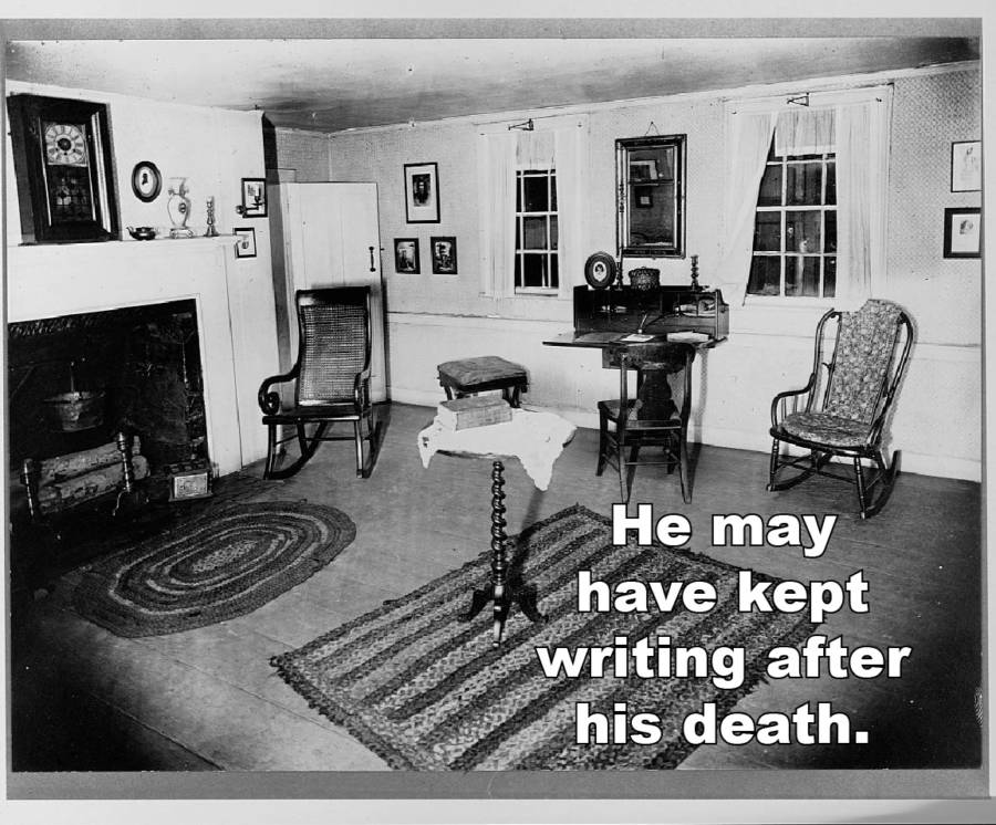 Edgar Allan Poe Facts Ghost
