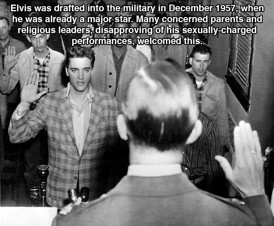 Elvis Drafted In The Army