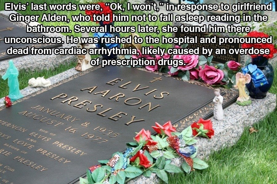 Cause Of Elvis' Death