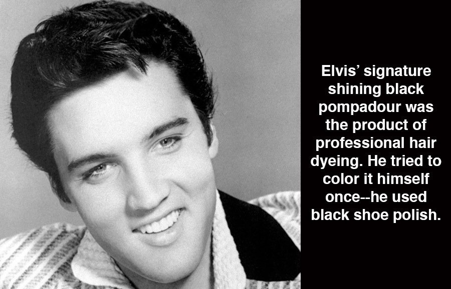 Weird Facts About Elvis Presley