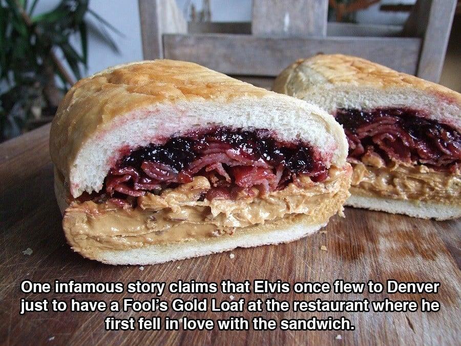 Strange Elvis Facts Sandwiches