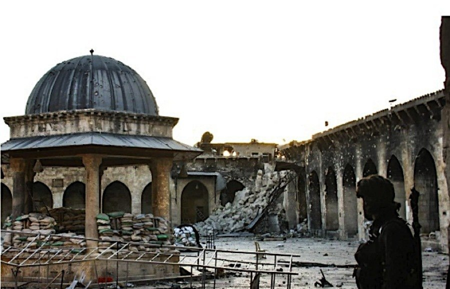 Endangered Unesco Aleppo Destruction