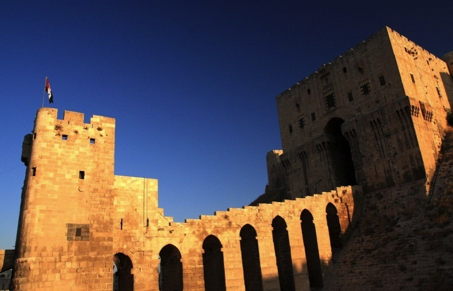 Endangered Unesco Aleppo Fortress