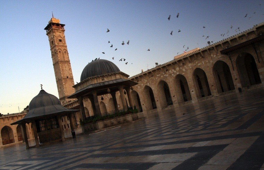 Endangered Unesco Aleppo Mosque