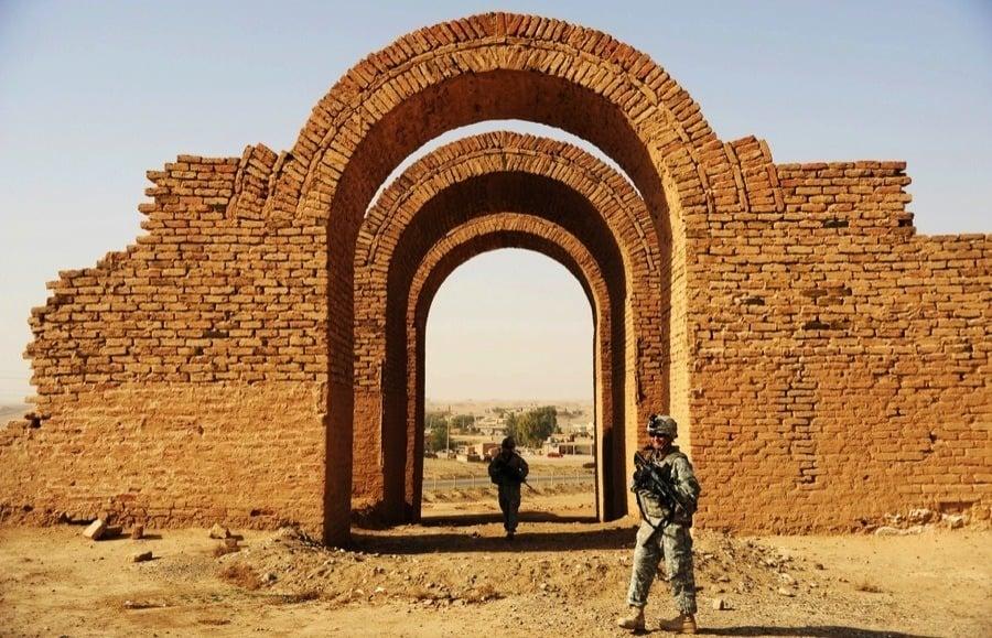 Endangered Unesco Ashur Iraq
