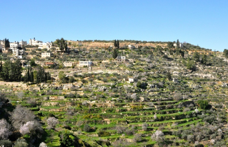 Endangered Unesco Battir Palestine