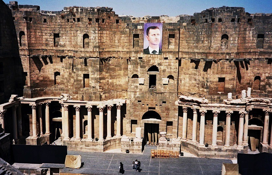 Endangered Unesco Bosra Assad
