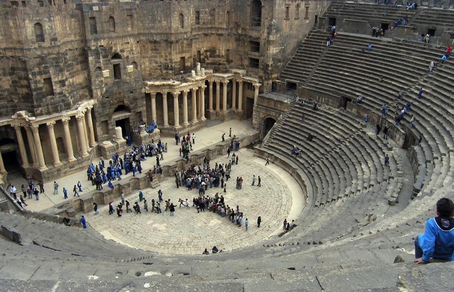 Endangered Unesco Bosra Syria