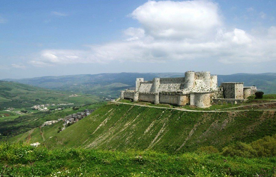 Endangered Unesco Crac Chevaliers