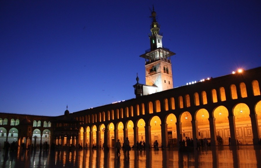 Endangered Unesco Damascus Mosque