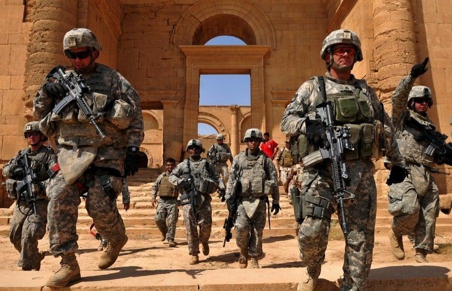 Endangered Unesco Hatra Iraq
