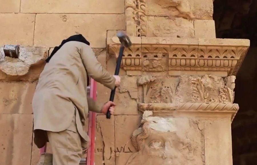 Endangered Unesco Hatra Isis