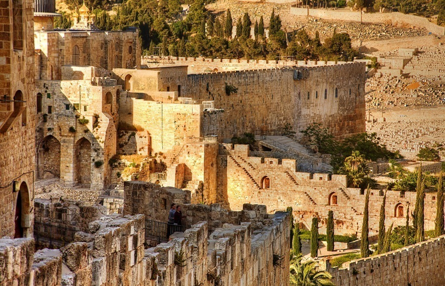 Endangered Unesco Jerusalem Walls
