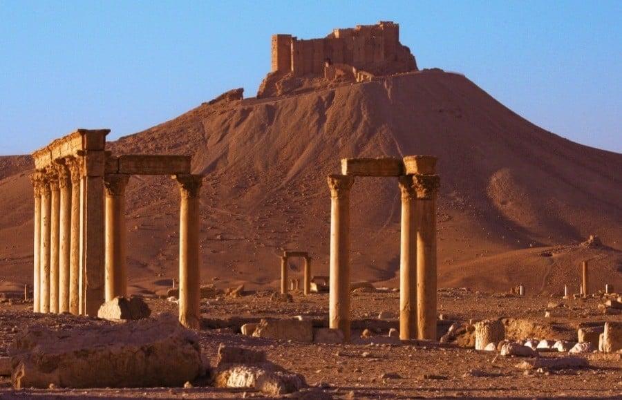 Endangered Unesco Palmyra Syria