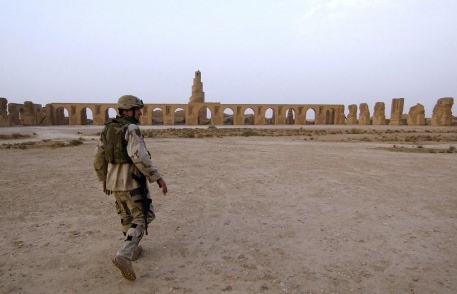 Endangered Unesco Samarra Iraq