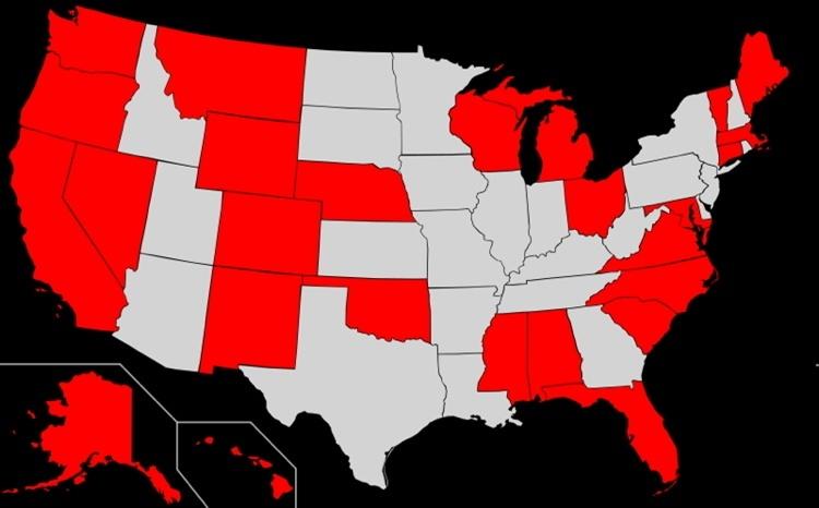 Faithless Elector Map