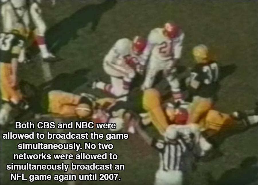 First Super Bowl Facts Networks