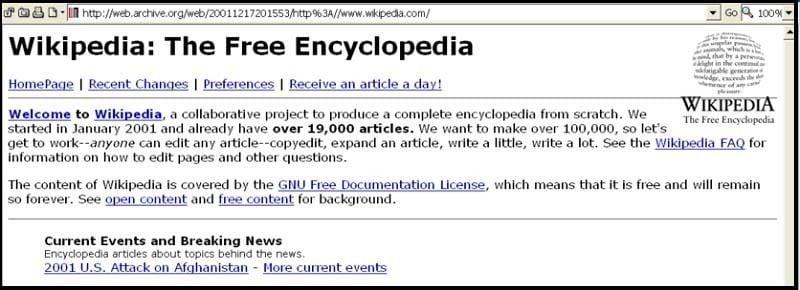 First Wikipedia