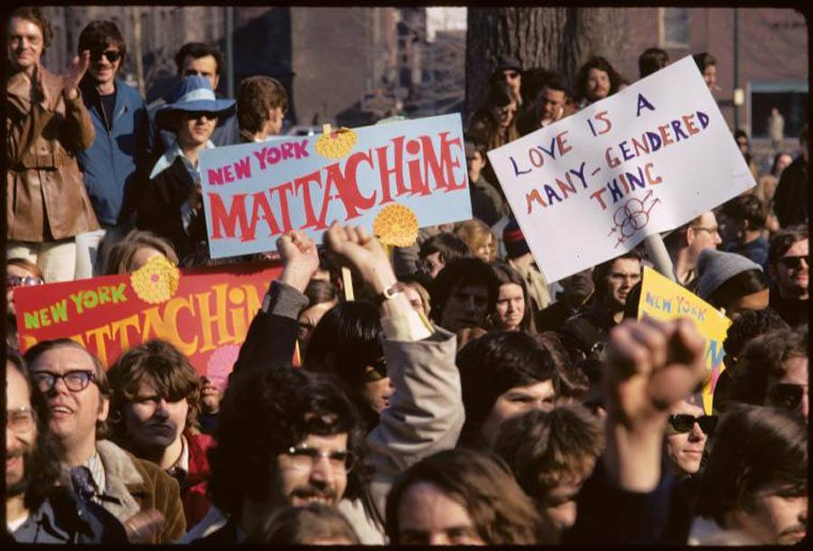 Gay Rights March 1971 Mattachine