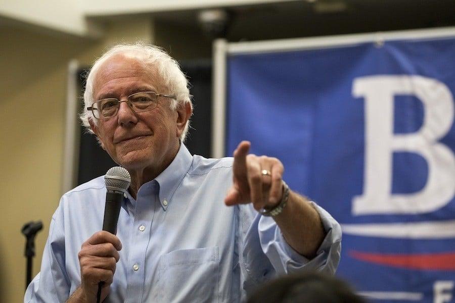 Iowa Caucus Bernie Sanders
