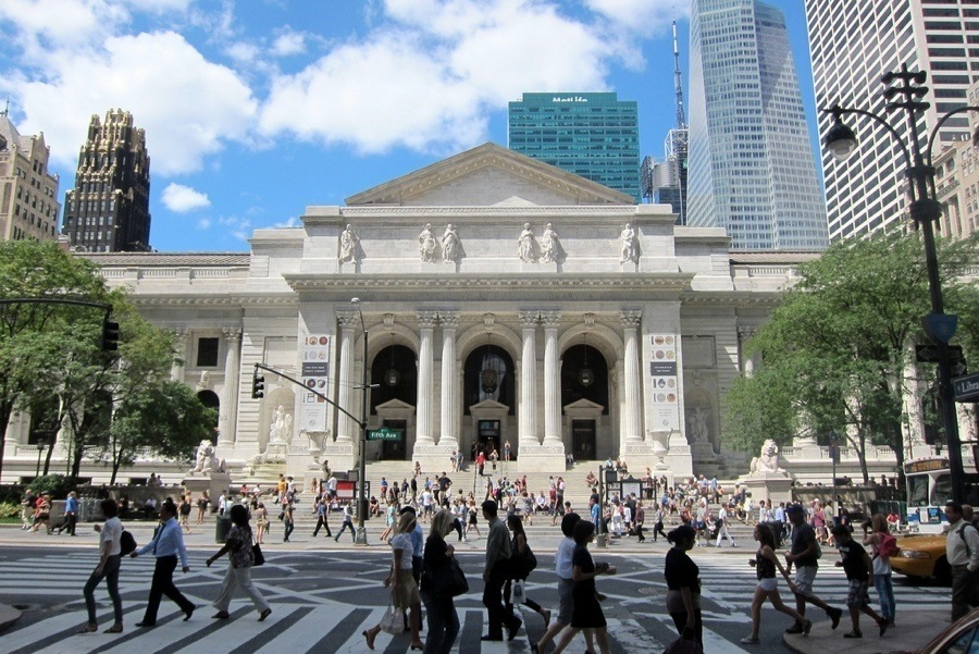 New York Public Library Today
